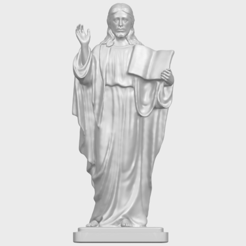 19_TDA0237_Jesus_vA01.png Download free STL file Jesus 05 • 3D print object, GeorgesNikkei