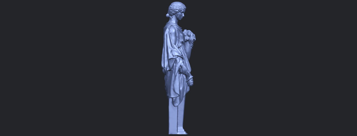 05_TDA0261_Sculpture_of_a_girlB09.png Download free STL file Sculpture of a girl • 3D printable model, GeorgesNikkei