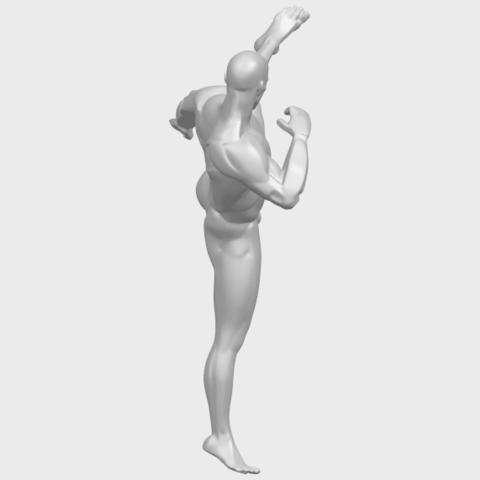 06_TDA0547_Man_KickingA09.png Télécharger fichier STL gratuit Man Kicking • Objet pour impression 3D, GeorgesNikkei