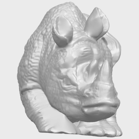 02_TDA0312_Rhinoceros_iv_FemaleA09.png Download free STL file  Rhinoceros 05 Female • 3D print object, GeorgesNikkei