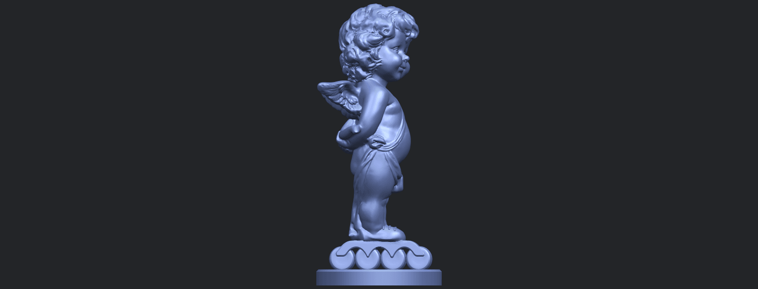 15_TDA0478_Angel_Baby_01B09.png Download free STL file Angel Baby 01 • 3D print template, GeorgesNikkei