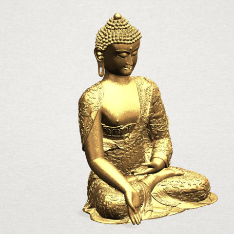 Thai Buddha(i) A09.png Download free STL file Thai Buddha (i) • Model to 3D print, GeorgesNikkei