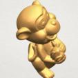 Descargar archivos 3D gratis Lindo Mono, GeorgesNikkei