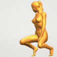 03.png Download free STL file Naked Girl D04 • 3D printable template, GeorgesNikkei