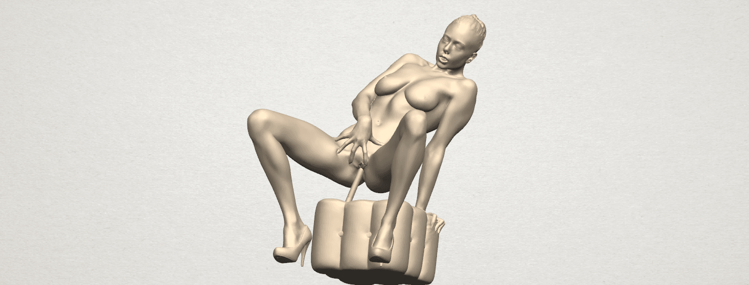 TDA0285 Naked Girl B02 10.png Download free STL file  Naked Girl B02 • 3D printer model, GeorgesNikkei