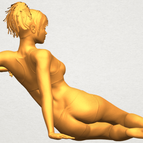 A08.png Download free STL file Naked Girl F03 • Template to 3D print, GeorgesNikkei