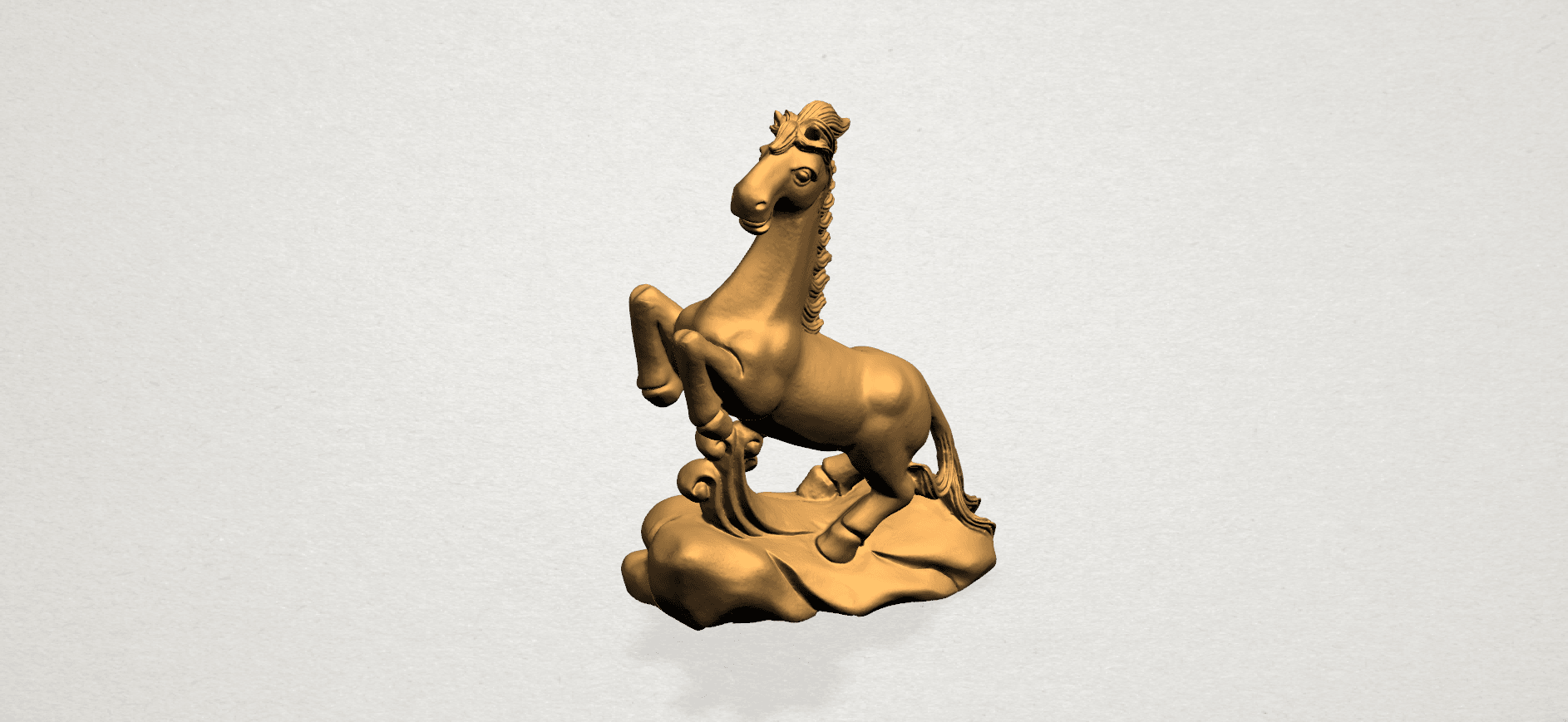 Chinese Horoscope07-A03.png Télécharger fichier STL gratuit Horoscope Chinois 07 Cheval Chinois • Design imprimable en 3D, GeorgesNikkei