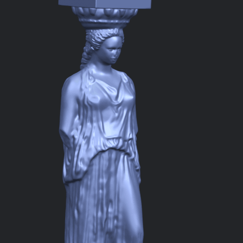 19_Pose_with_Girl_80mmA10.png Download free STL file Pose with Girl • 3D printable template, GeorgesNikkei