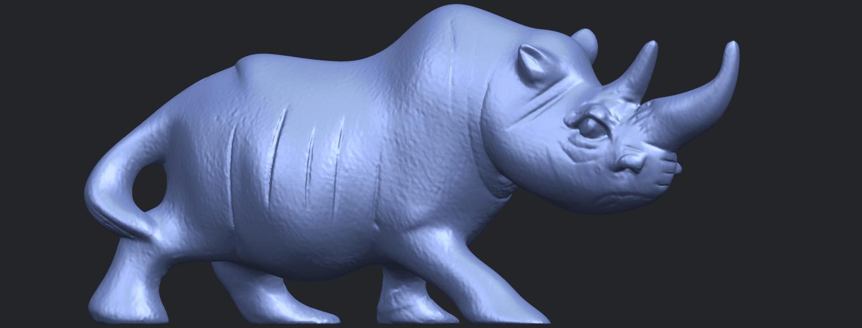 TDA0310_Rhinoceros_iiB07.png Download free STL file Rhinoceros 02 • 3D printing model, GeorgesNikkei