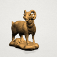 Chinese Horoscope08-A02.png Download free STL file Chinese Horoscope 08 Goat • Model to 3D print, GeorgesNikkei