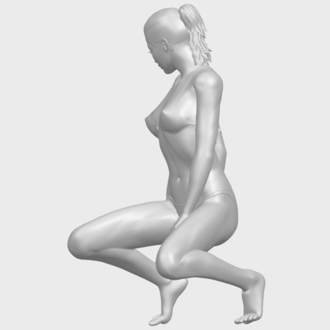 15_TDA0634_Naked_Girl_D04A04.png Download free STL file Naked Girl D04 • 3D printable template, GeorgesNikkei