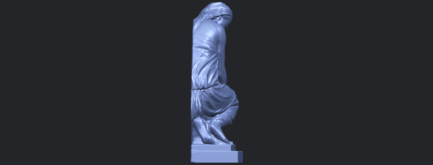 06_TDA0548_Sculpture_of_a_girl_02B09.png Download free STL file Sculpture of a girl 02 • 3D printable template, GeorgesNikkei