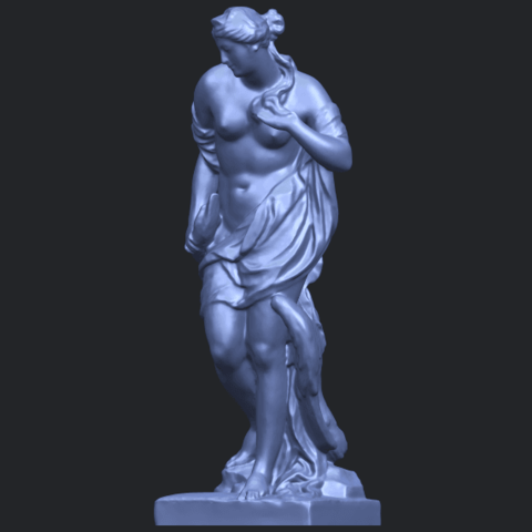 25_TDA0173_Naked_Girl_with_Goose_88mmB02.png Download free STL file Naked Girl with Goose • 3D print template, GeorgesNikkei