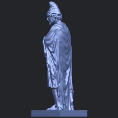 17_TDA0266_Tiridates_I_of_ArmeniaB05.png Download free STL file Tiridates I of Armenia • 3D print model, GeorgesNikkei