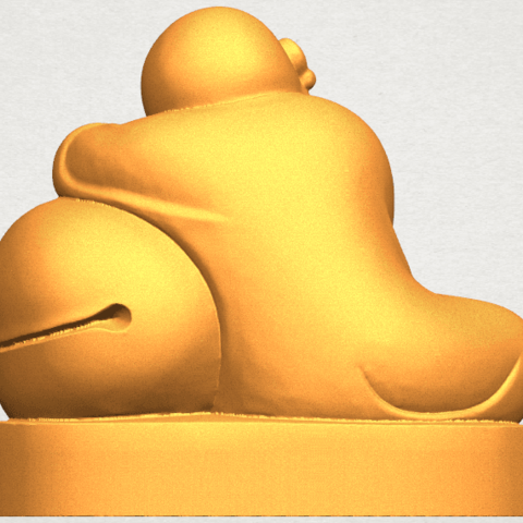 TDA0346 Little Monk A03.png Download free STL file Little Monk 02 • Design to 3D print, GeorgesNikkei