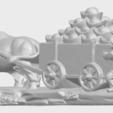 Free 3D printer designs Golden Car, GeorgesNikkei