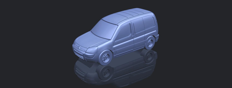 TDB002_1-50A00-1.png Download free STL file Citroen Berlingo Belgium Post • Design to 3D print, GeorgesNikkei