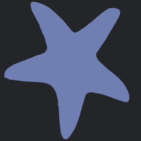 14_TDA0607_Starfish_01B07.png Télécharger fichier STL gratuit Étoile de mer 01 • Design à imprimer en 3D, GeorgesNikkei