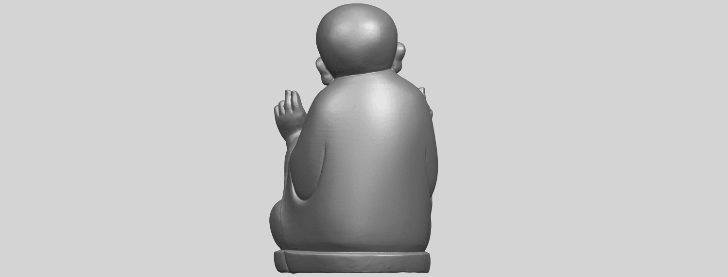 TDA0732_Little_Monk_05A06.png Download free STL file Little Monk 05 • 3D printing template, GeorgesNikkei