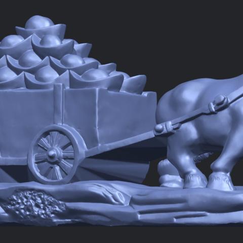 17_TDA0315_Golden_CarB07.png Download free STL file Golden Car • 3D printer template, GeorgesNikkei