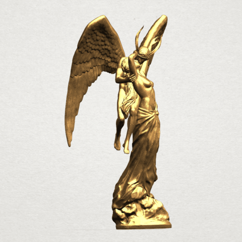 Angel and devil - C06.png Download free 3DS file Angel and devil • 3D print template, GeorgesNikkei