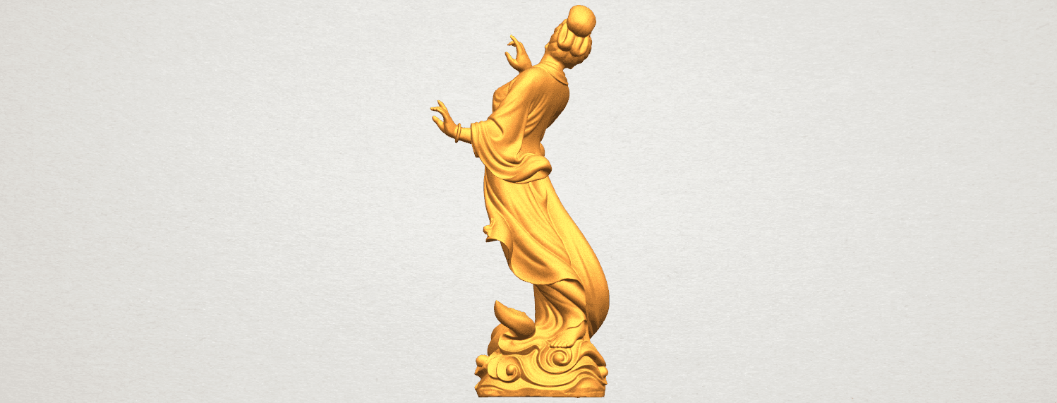 TDA0448 Fairy 03 A04.png Download free STL file Fairy 03 • 3D printable object, GeorgesNikkei