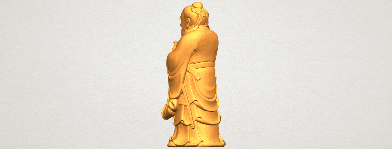 TDA0341 Confucius A04.png Download free STL file Confucius • 3D printable model, GeorgesNikkei