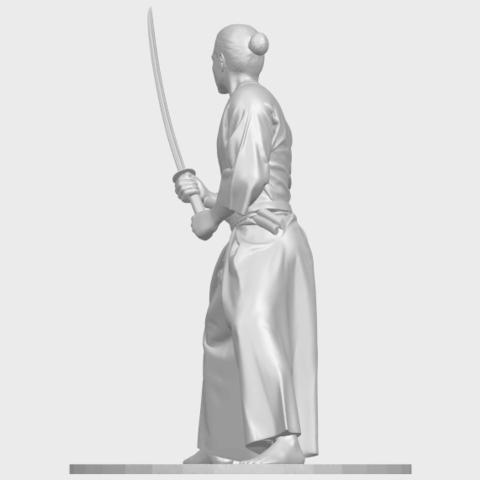 05_TDA0544_Japanese_WarriorA04.png Download free STL file Japanese Warrior • 3D printer model, GeorgesNikkei