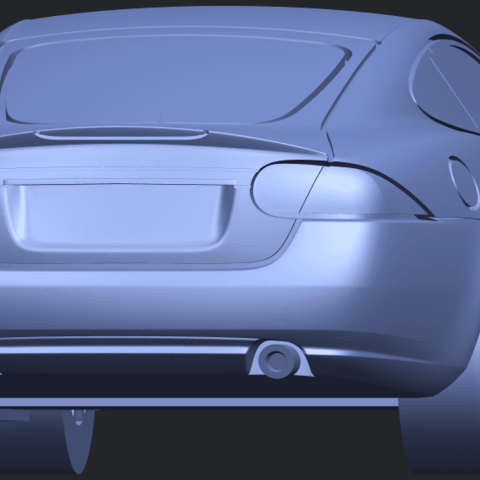 TDB003_1-50 ALLA04.png Download free STL file Jaguar X150 Coupe Cabriolet 2005 • 3D printing template, GeorgesNikkei