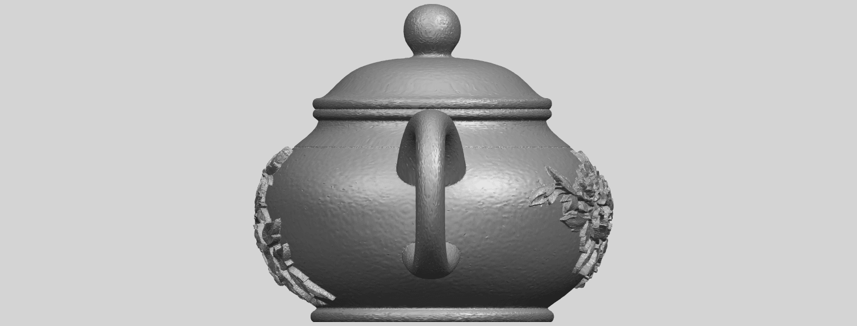 02_TDA0324_Tea_Pot_iiiA04.png Download free STL file Tea Pot 03 • 3D printing template, GeorgesNikkei