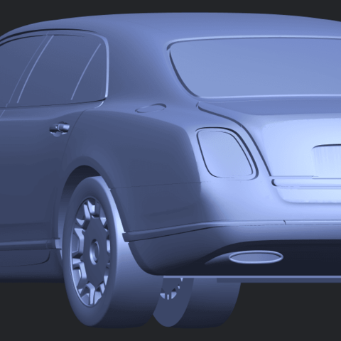 TDB004_1-50 ALLA03.png Download free STL file Bentley Arnage 2010 • 3D printing template, GeorgesNikkei