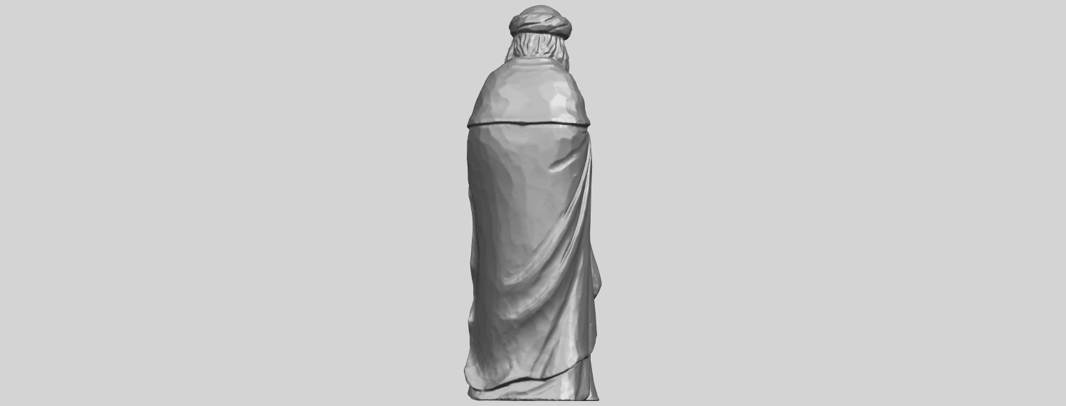 26_Sculpture_of_Arabian_88mm-A06.png Download free STL file Sculpture of Arabian • 3D print template, GeorgesNikkei