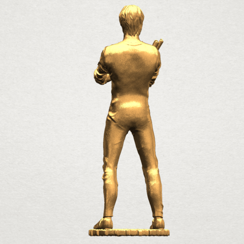 Bruce Lee A05.png Download free STL file Bruce Lee • 3D printing design, GeorgesNikkei
