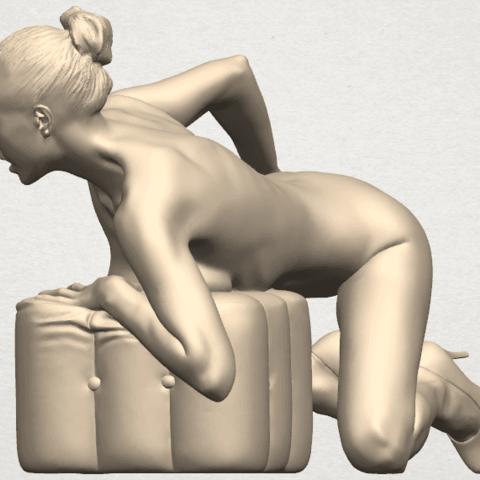 TDA0284 Naked Girl B01 04.png Télécharger fichier STL gratuit Fille nue B01 • Design à imprimer en 3D, GeorgesNikkei