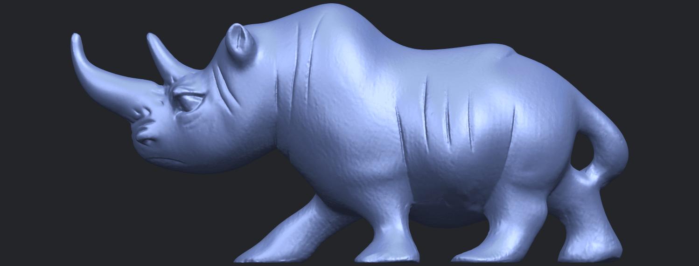 TDA0310_Rhinoceros_iiB01.png Download free STL file Rhinoceros 02 • 3D printing model, GeorgesNikkei