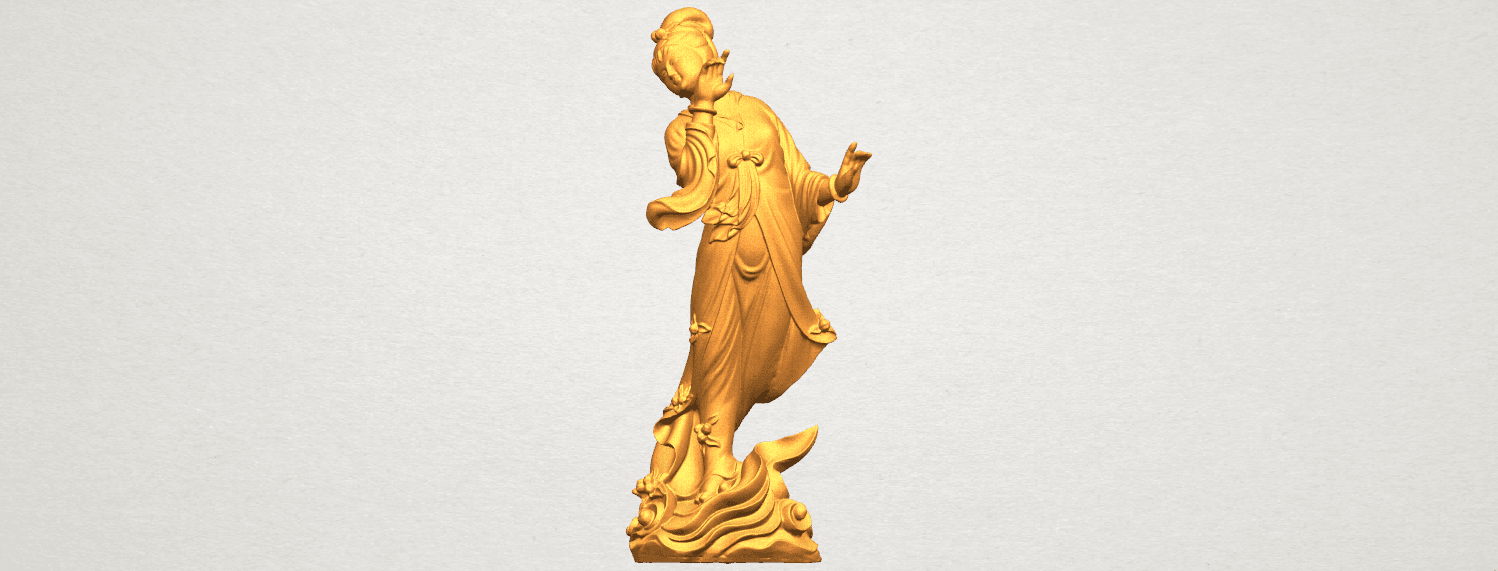 TDA0448 Fairy 03 A01.png Download free STL file Fairy 03 • 3D printable object, GeorgesNikkei