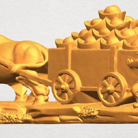 TDA0315 Golden Car A02.png Download free STL file Golden Car • 3D printer template, GeorgesNikkei
