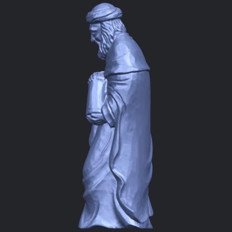 26_Sculpture_of_Arabian_88mm-B03.png Download free STL file Sculpture of Arabian • 3D print template, GeorgesNikkei