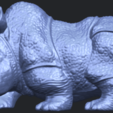 Download free STL  Rhinoceros 05 Female, GeorgesNikkei