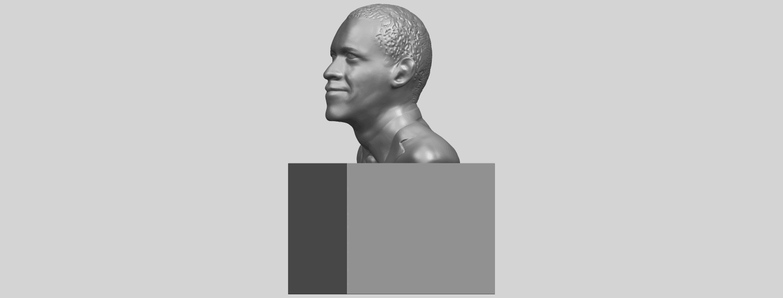 02_TDA0294_ObamaA03.png Download free STL file Obama • 3D print model, GeorgesNikkei