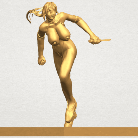 TDA0586 Sexy Girl 09 A07.png Download free STL file Sexy Girl 09 • 3D printing template, GeorgesNikkei