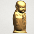 Little Monk 80mm - A06.png Download free STL file Little Monk 01 • 3D printable design, GeorgesNikkei