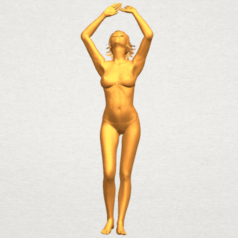 TDA0627 Naked Girl C03 A02.png Download free STL file Naked Girl C03 • 3D printer template, GeorgesNikkei