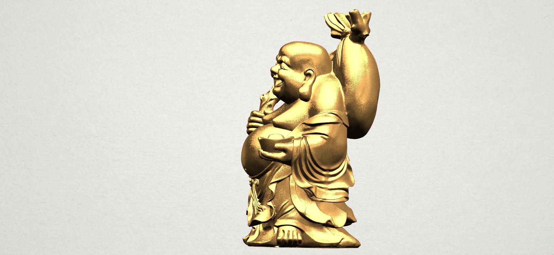 Metteyya Buddha 05 - 88mm - A03.png Télécharger fichier STL gratuit Bouddha Metteyya 05 • Objet imprimable en 3D, GeorgesNikkei