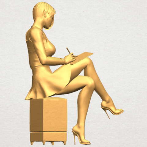 TDA0471 Beautiful Girl 05 A06.png Download free STL file Beautiful Girl 05 • 3D printing template, GeorgesNikkei