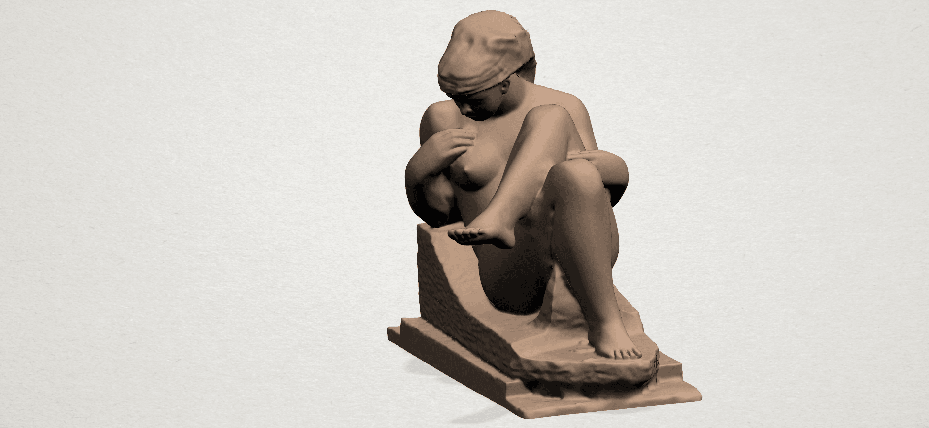 Naked Girl (xiii) A02.png Download free STL file Naked Girl 13 • 3D print design, GeorgesNikkei