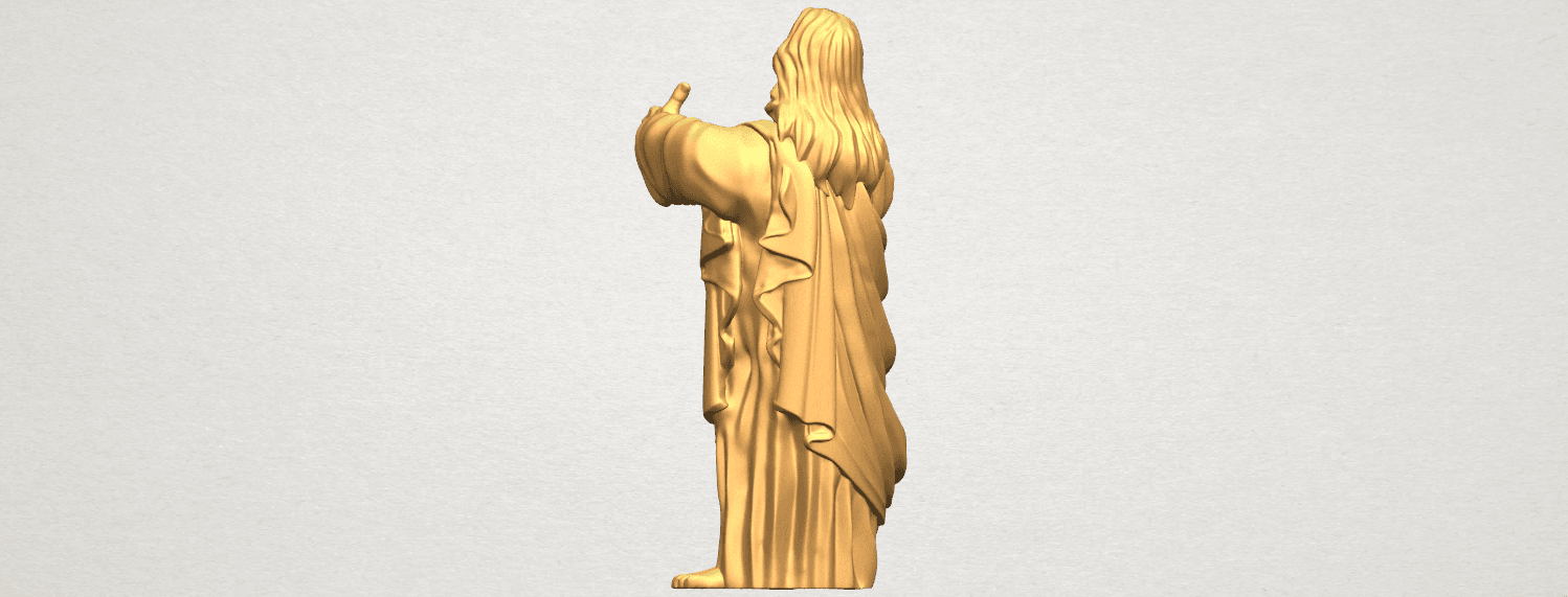 TDA0485 Jesus - Funny A04.png Download free STL file  Jesus - Funny • 3D printer template, GeorgesNikkei