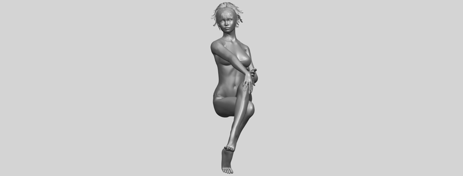 20_TDA0664_Naked_Girl_H02A04.png Download free STL file Naked Girl H02 • 3D print object, GeorgesNikkei