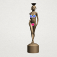 Naked girl-vase-B01 - Copy.png Download free STL file Naked Girl with Vase on Top (i) • 3D print template, GeorgesNikkei