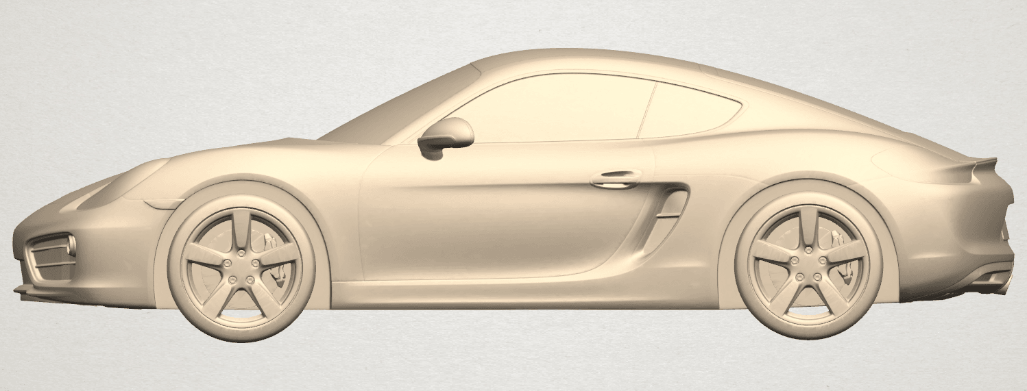 TDA0304 Porche 01 Length438mm A01.png Download free STL file Porche 01 • 3D printable object, GeorgesNikkei